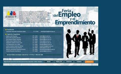 Feria del Empleo Sena Bogota