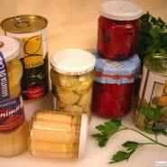 Preparación de conservas de Frutas y Verduras