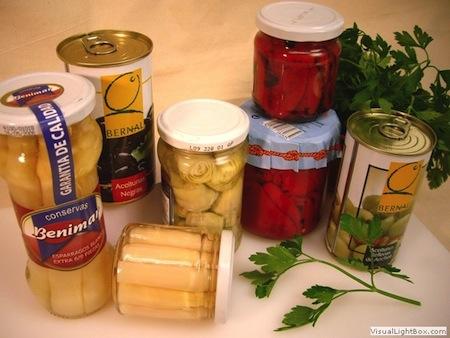 Preparacion de conservas de Frutas y Verduras