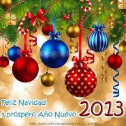 Feliz Navidad y prospero año 2013 les desea el Sena Virtual