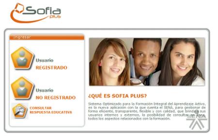 Plataforma SENA SOFIA Plus