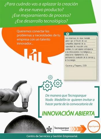 Convocatoria de Innovacion Abierta 2015