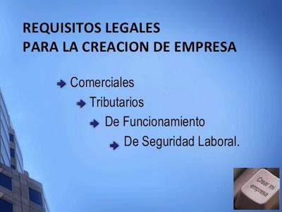 Tramites legales constitucion de una Empresa