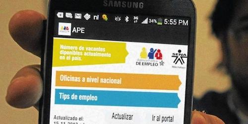 App para buscar Empleo en Colombia