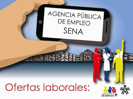 SENA ofrece Empleos en todo el pais