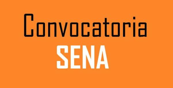 Convocatoria para programas del Sena en Santander