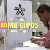 Cupos para las Inscripciones al SENA